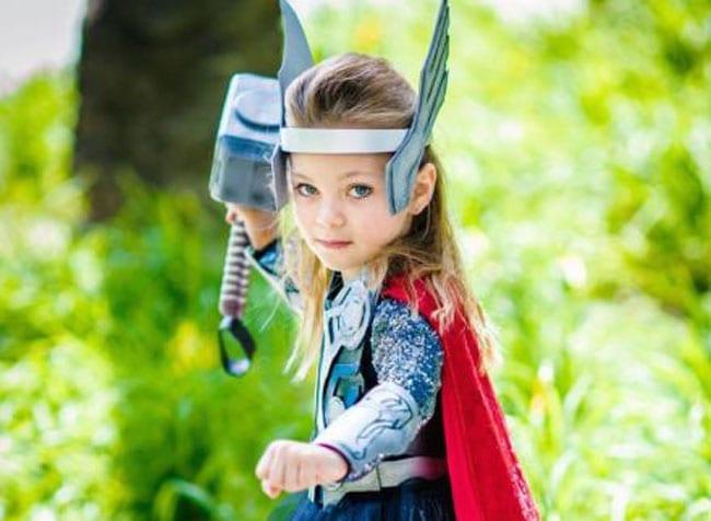 meninas querem ser super heroinas