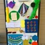 painel sensorial montessori 09