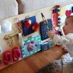 painel sensorial montessori 12