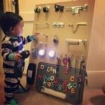 painel sensorial montessori 14