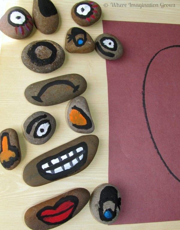 pedras para aprender emocoes