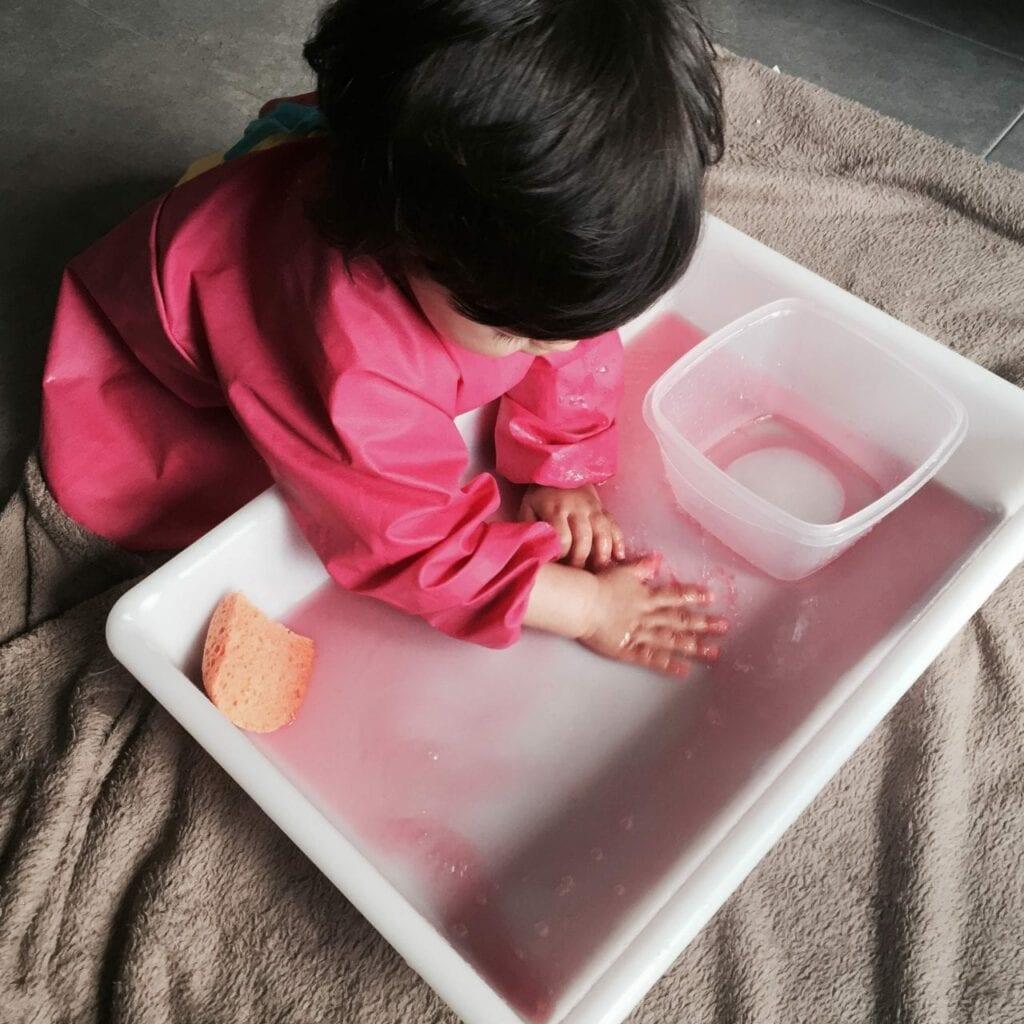 transferencia de liquidos com esponja atividade 15
