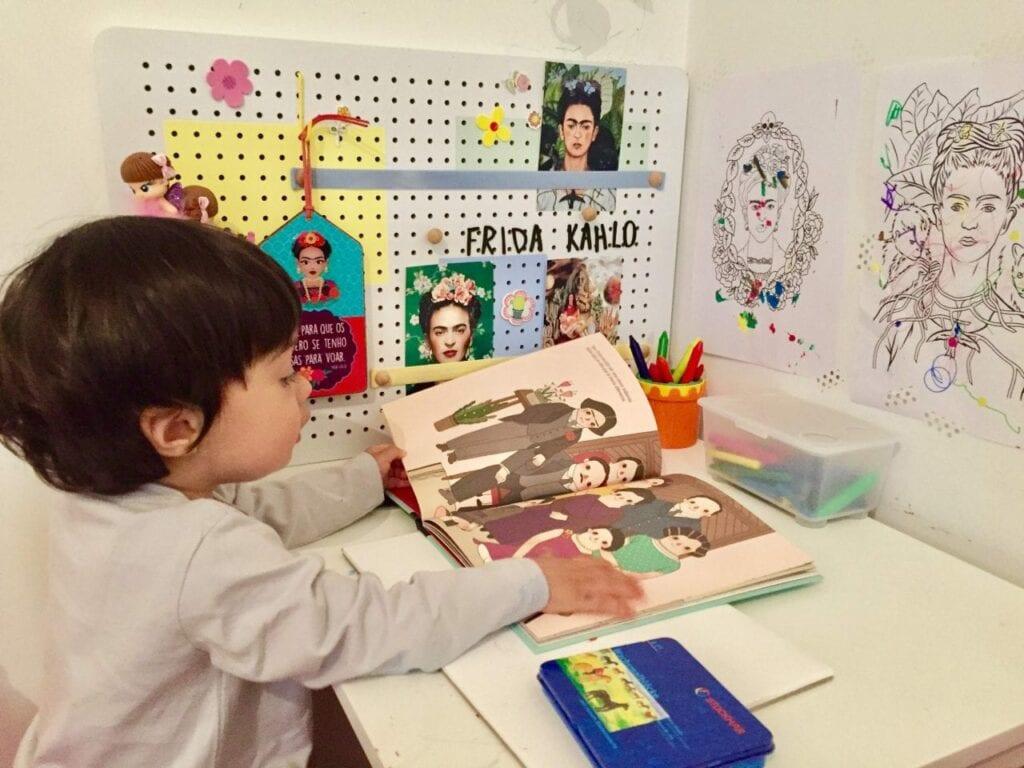 atividades de artes frida kahlo