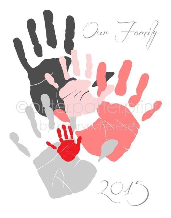 desenho de amor toda familia