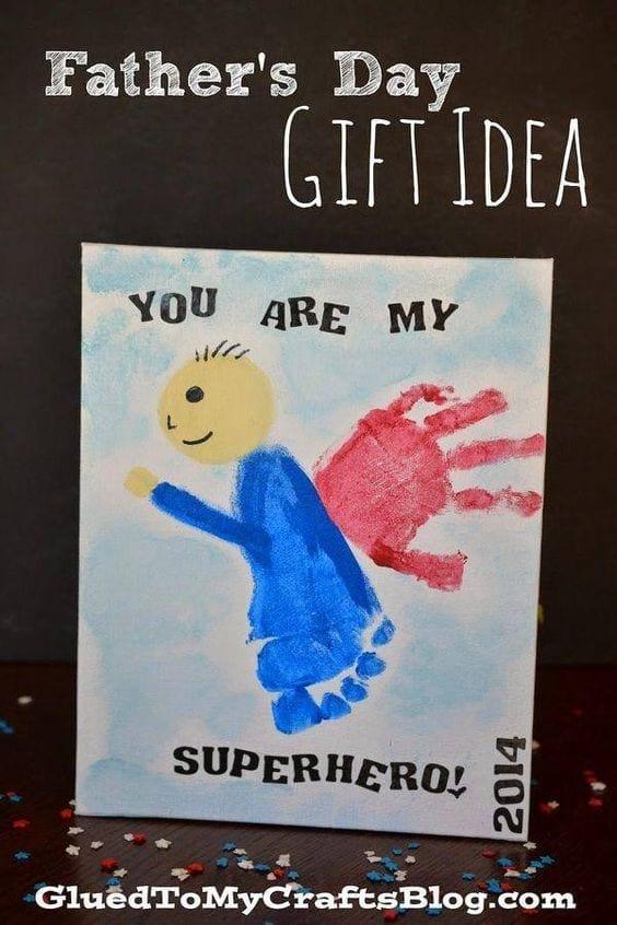 desenhos de amor pai super heroi