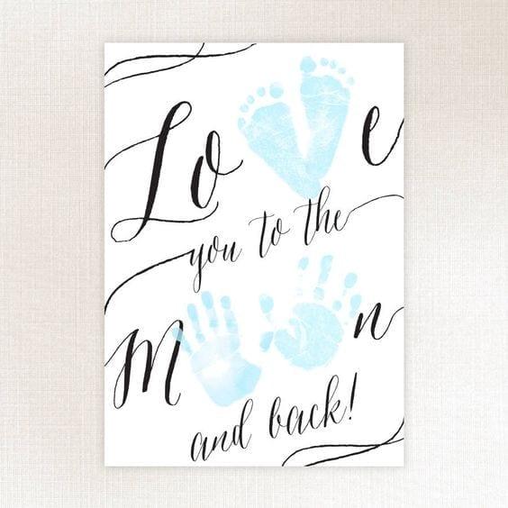 desenhos de amor recem nascido digitais