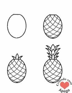 desenhos-para-desenhar-abacaxi