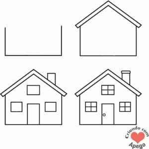 desenhos-para-desenhar-casa