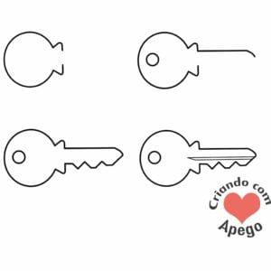 desenhos-para-desenhar-chave