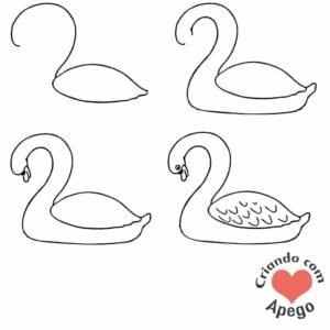 desenhos-para-desenhar-cisne