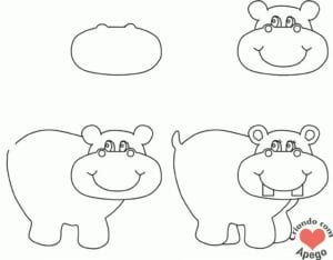 desenhos-para-desenhar-hipopotamo