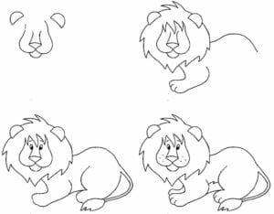 desenhos-para-desenhar-leao