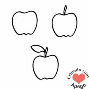 desenhos-para-desenhar-maca