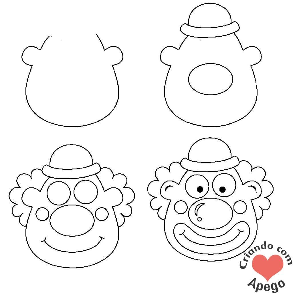Desenhos-para-desenhar-palhaco