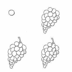 desenhos-para-desenhar-uva