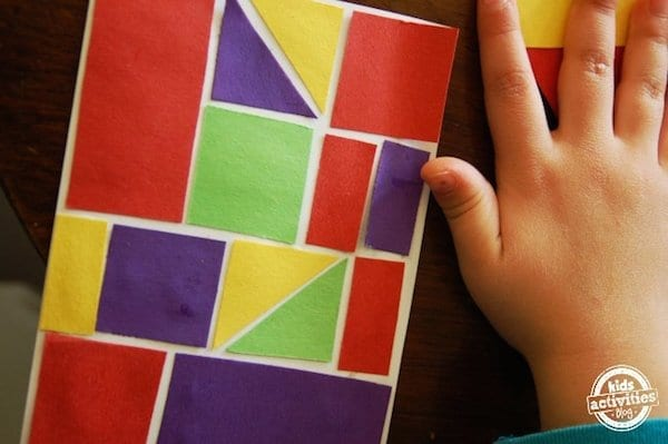 recriando o estilo de paul klee com figuras geometricas