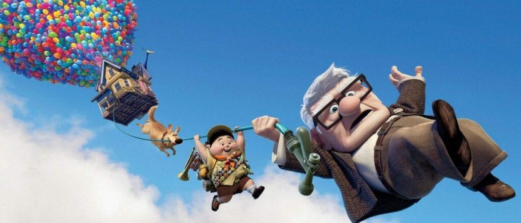 Up Altas Aventuras filme infantil inteligencia emocional