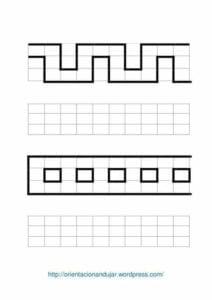 Desenhos quadriculados para imprimir e desenhar 03