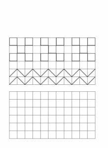 Desenhos quadriculados para imprimir e desenhar 04