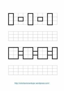 Desenhos quadriculados para imprimir e desenhar 06