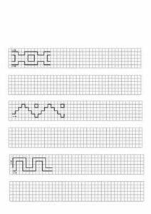 Desenhos quadriculados para imprimir e desenhar 07