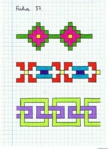 Desenhos quadriculados para imprimir e desenhar 08