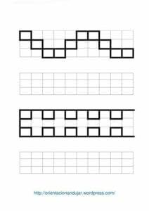 Desenhos quadriculados para imprimir e desenhar 10