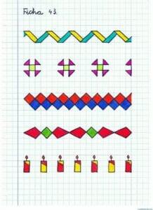 Desenhos quadriculados para imprimir e desenhar 12
