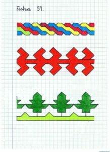 Desenhos quadriculados para imprimir e desenhar 13
