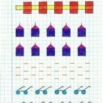 Desenhos quadriculados para imprimir e desenhar 18