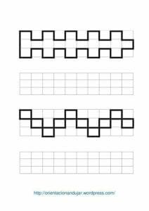 Desenhos quadriculados para imprimir e desenhar 21