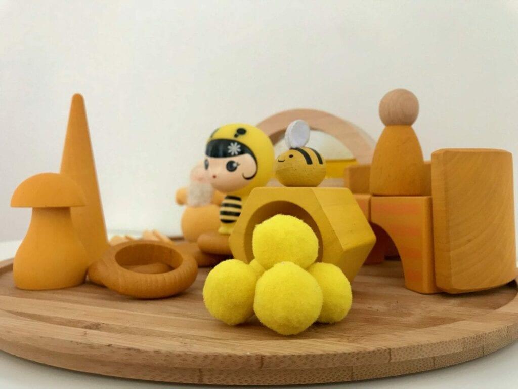 atividade com a cor amarela 07