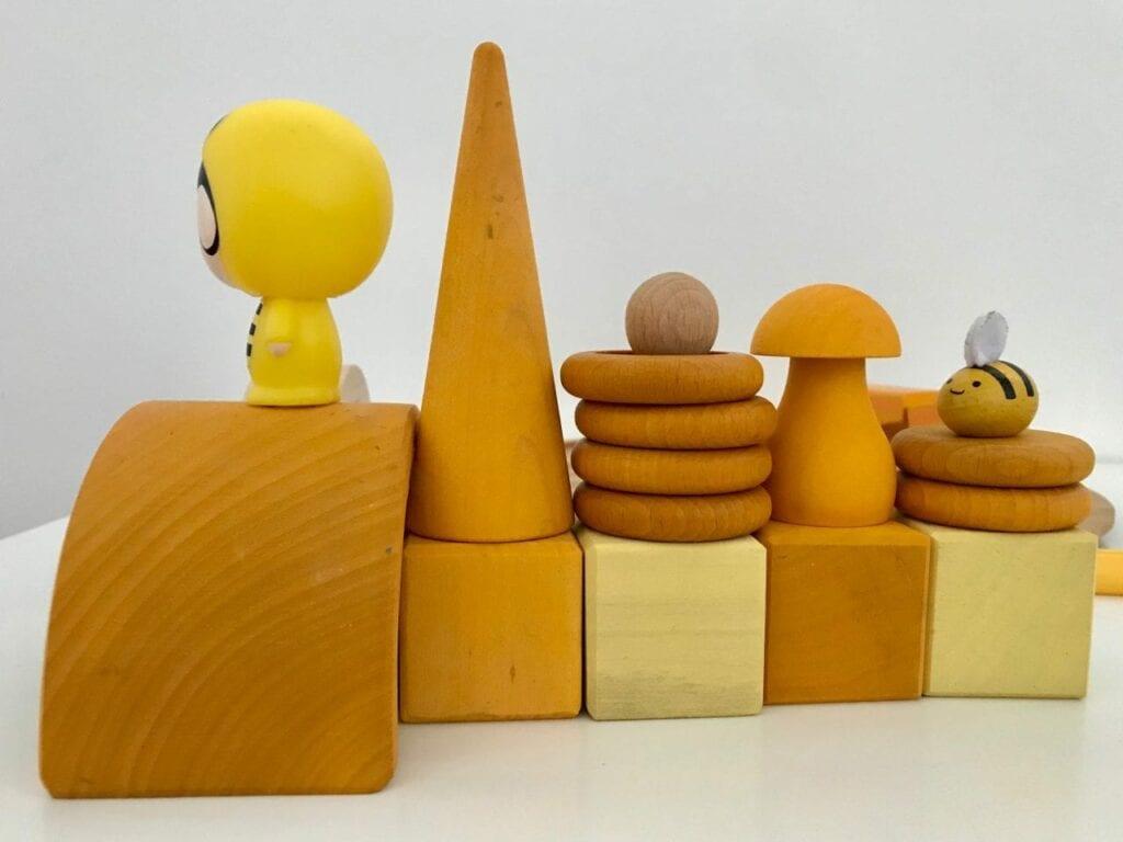 atividade com a cor amarela 15