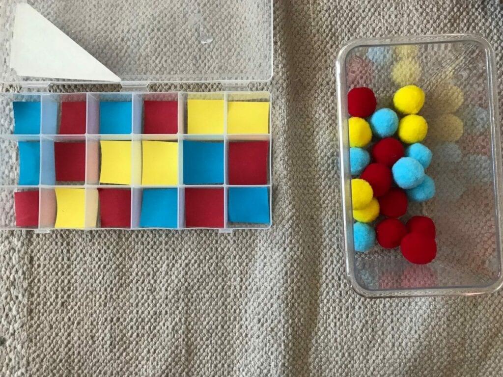 atividade com as cores primarias 01