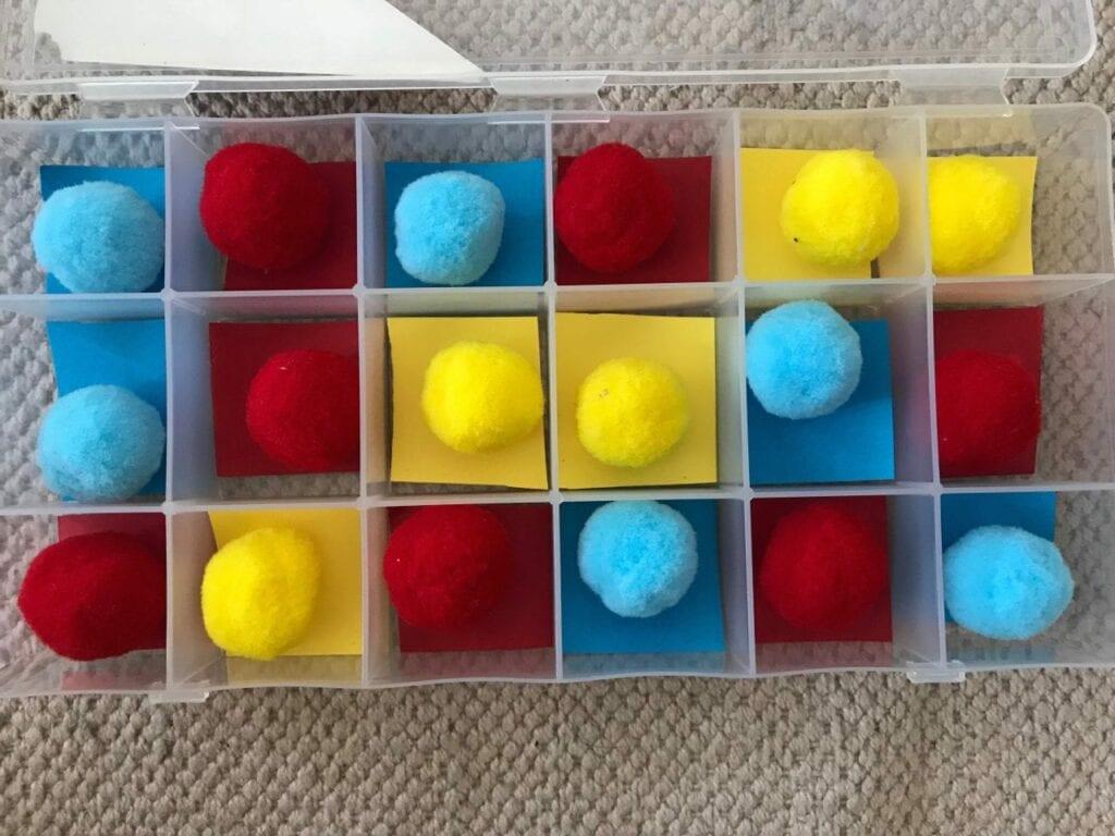 atividade com as cores primarias 03
