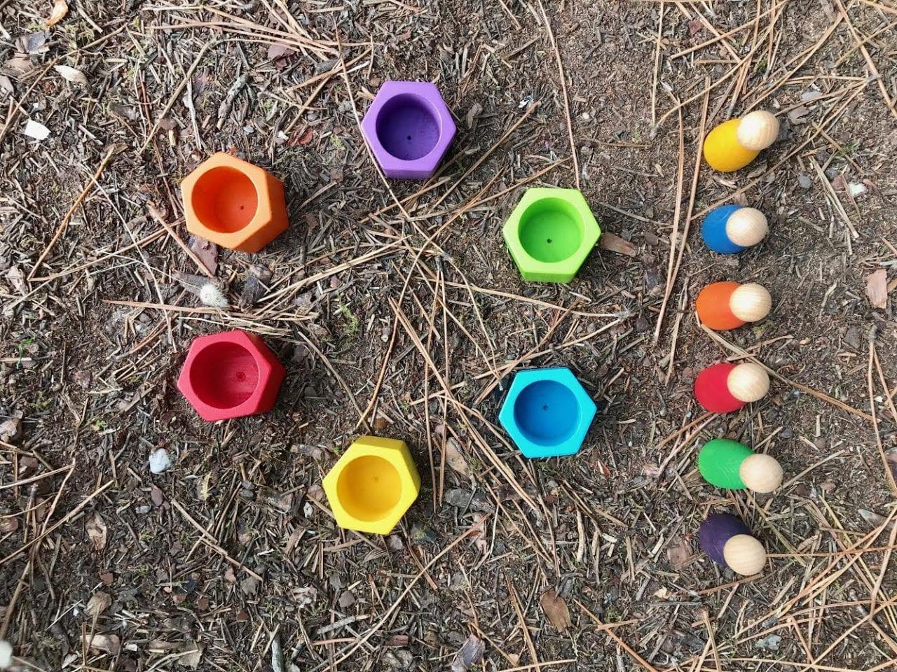 atividade sobre correspondencia das cores