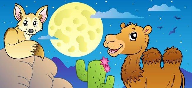 a raposa e o camelo lenda africana para criancas