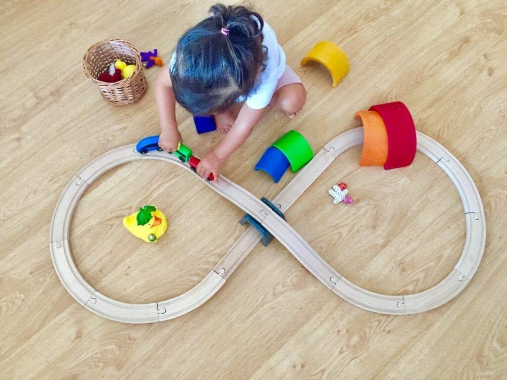 brinquedos para meninas de 2 anos pista de trem