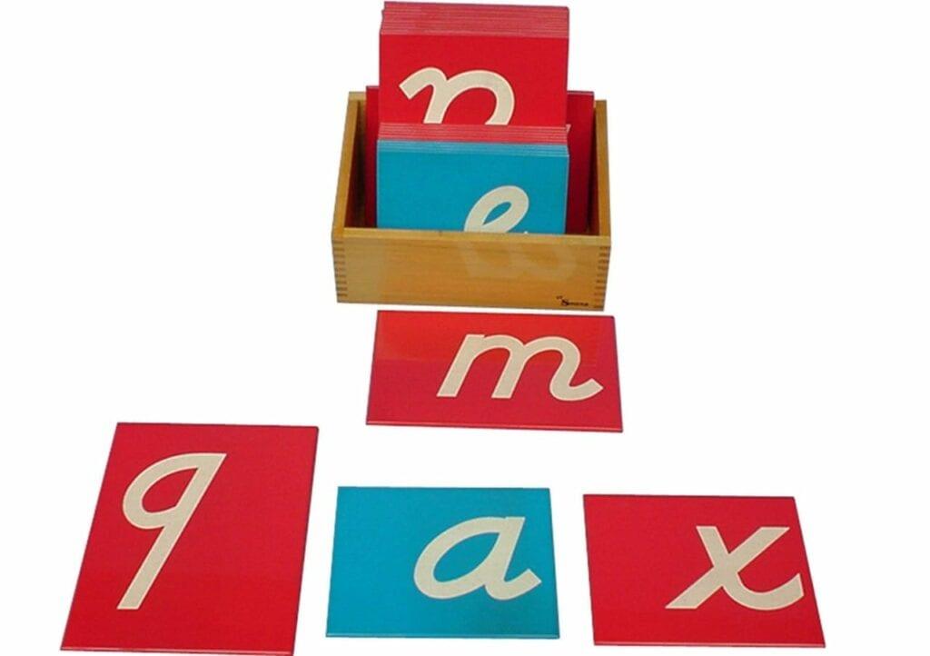 alfabeto letras de lixa montessori 03