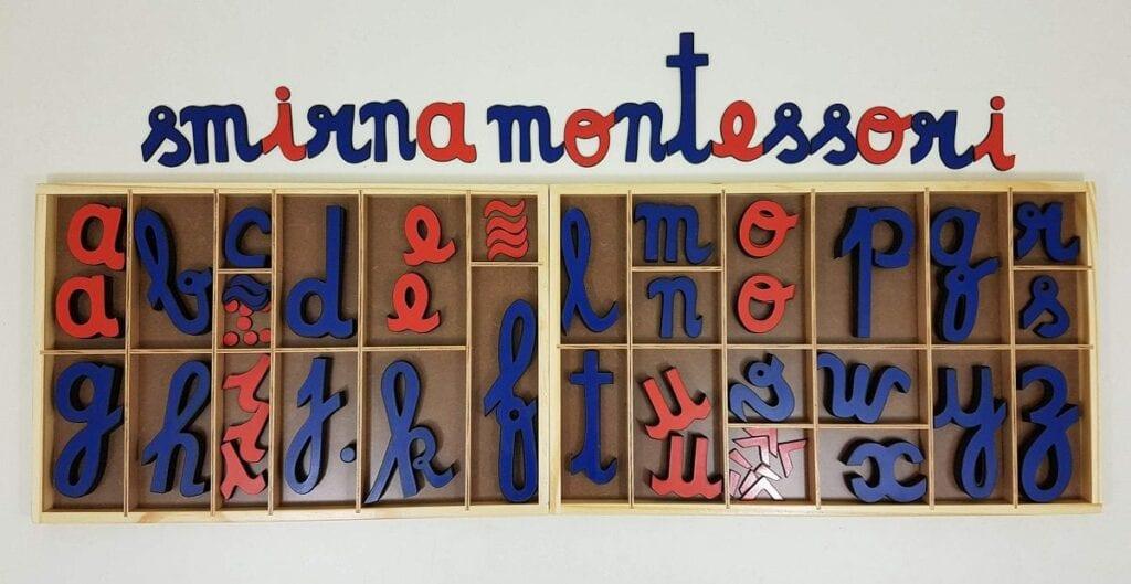 alfabeto movel montessori primeiro alfabetario