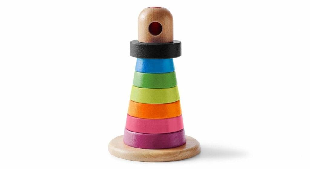 aneis empilhaveis brinquedos legais para bebes