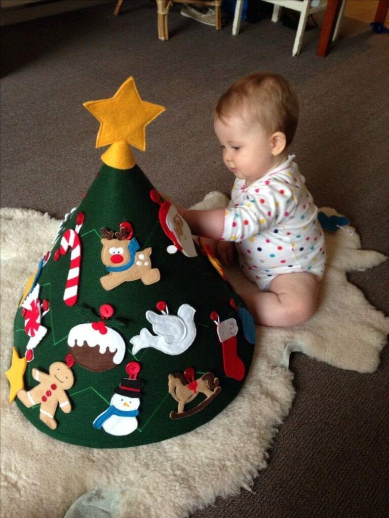 arvore de natal montessori 11