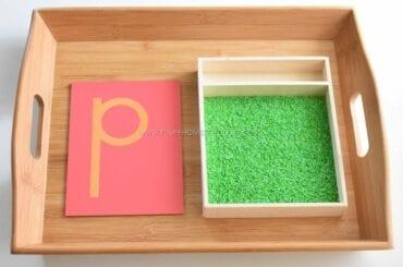 atividades a com caixa de areia montessori 07