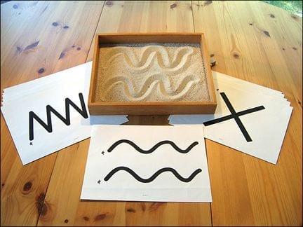 atividades com caixa de areia montessori 03