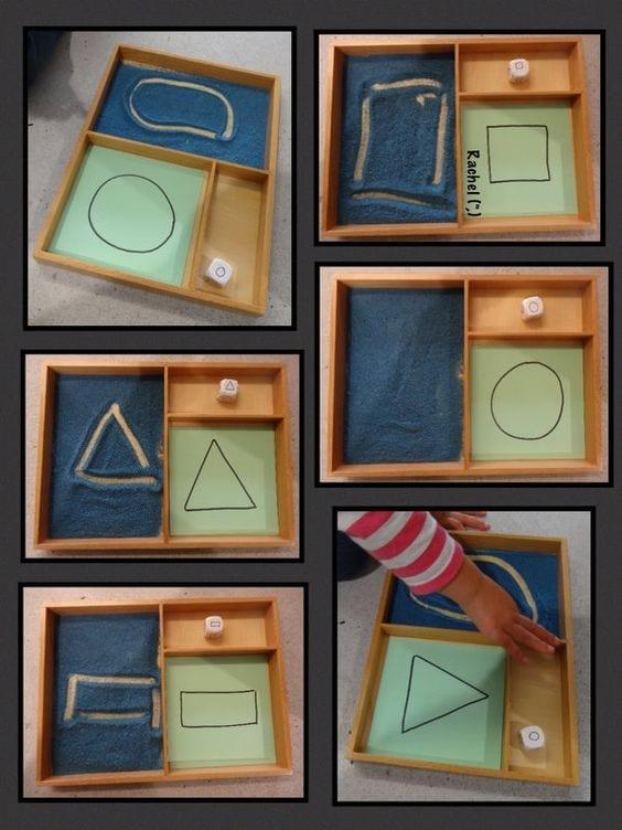 atividades com caixa de areia montessori 09