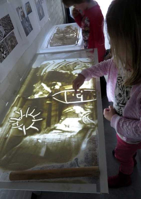 atividades com caixa de areia montessori 12