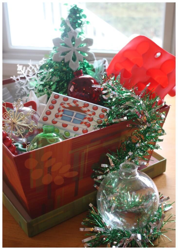 cestas dos tesouros montessori sobre o natal 01