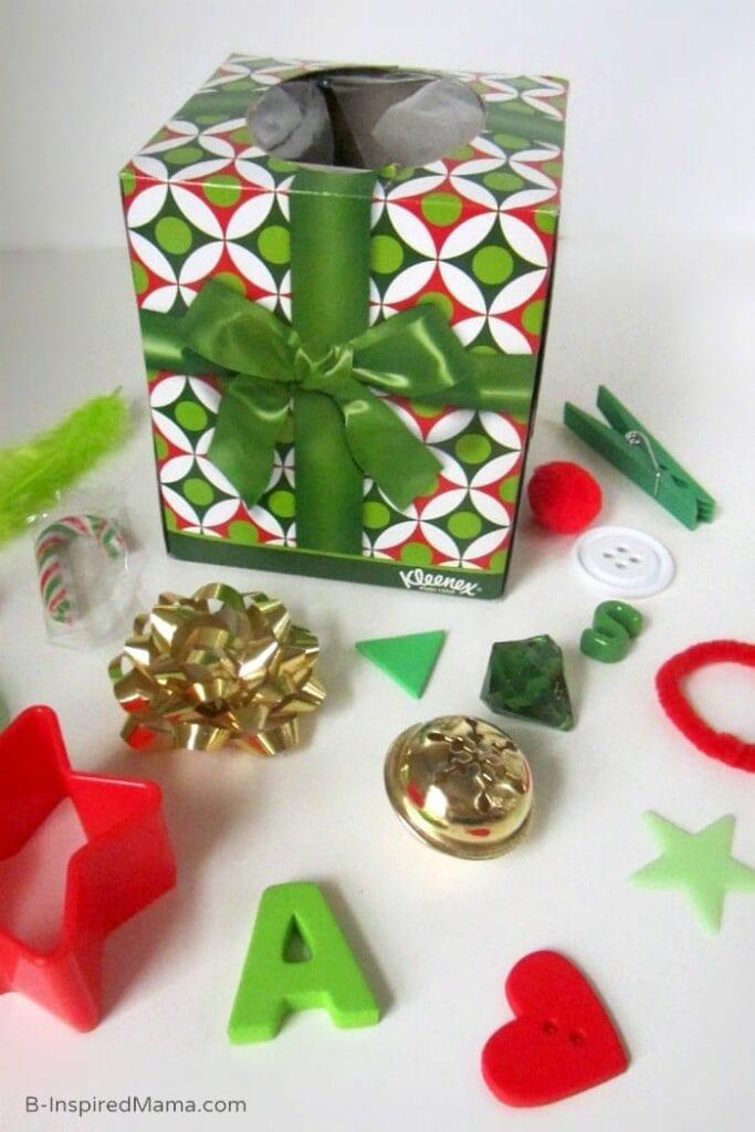 cestas dos tesouros montessori sobre o natal 06