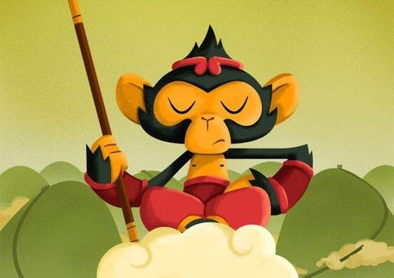 historia infantil africana o macaco e