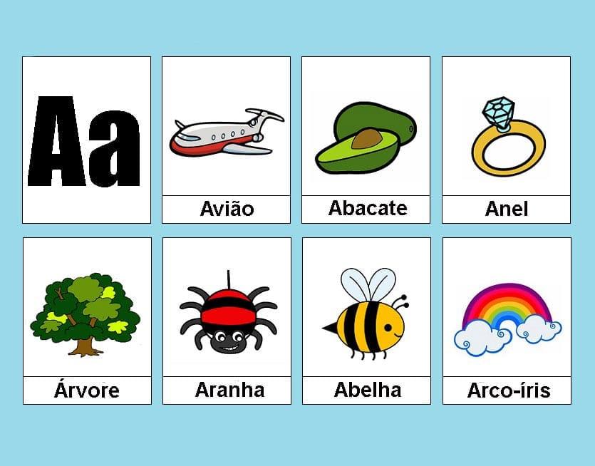 atividades com vogais a 1